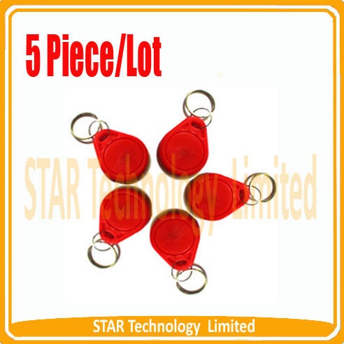 Free shipping best price rfid access control key tag Red<br><br>Aliexpress