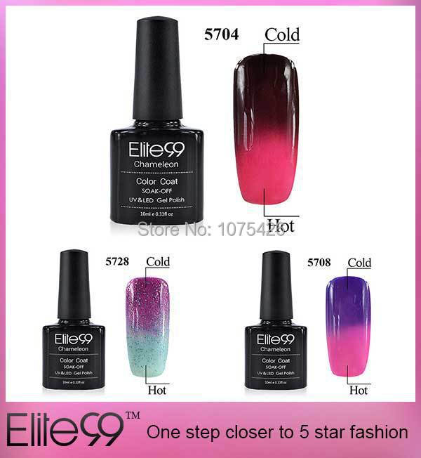 Gel Nail Polish That Changes Color With Temperature Change Color uv Gel Nail