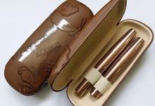 1set 2pcs colossal EYE LASHES MASCARA Set Makeup long eyelash waterproof double mascara hot selling