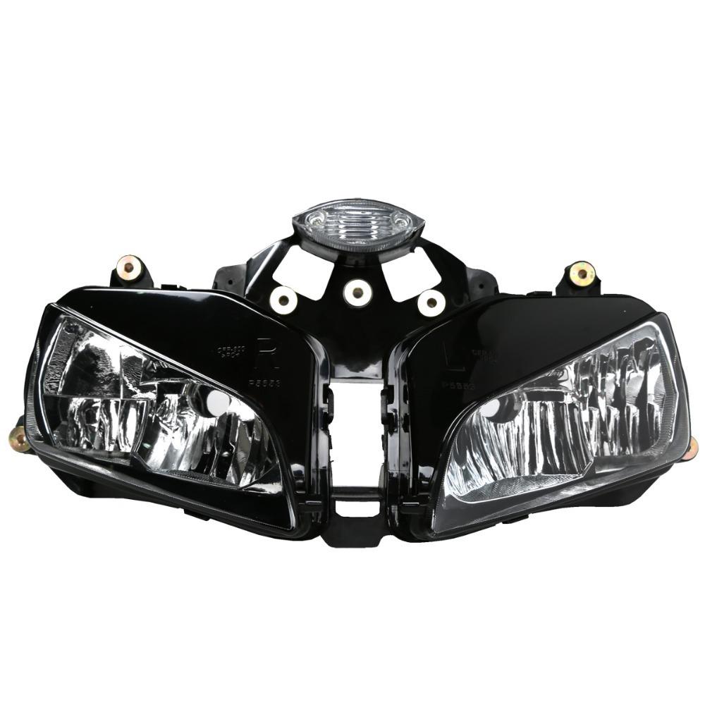 New Motorcycle Headlight Head Light Lamp Assembly For 2003-2006 Honda CBR 600RR 2004 2005(China (Mainland))