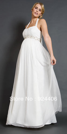 Chiffon, network marketing, pregnant bridal wear(China (Mainland))