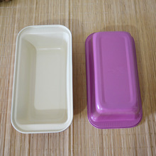 Golden Baking Tray mould Toast box Baking dish high-quality Ceramic Non-Stick Brownie bake pan heat-transfer good 25*13*6cm(China (Mainland))