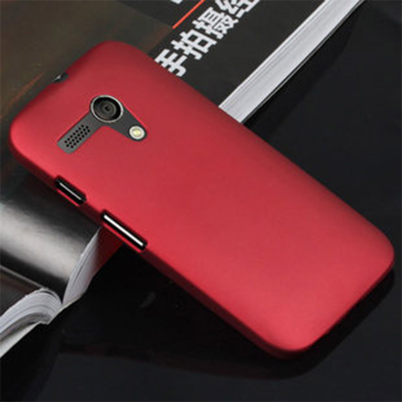 Wholesale Cellphone Shell Back Cases For Moto G X1032 Hard Plastic Case Matte Ultra Thin Anti Skid Rubber PC Covers Phone Case(China (Mainland))
