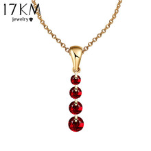 8 Colors Crystal Long Water Drop Necklaces & Pendant Crystal Necklace Maxi collares collier Statement Necklace colar Women Gift(China (Mainland))