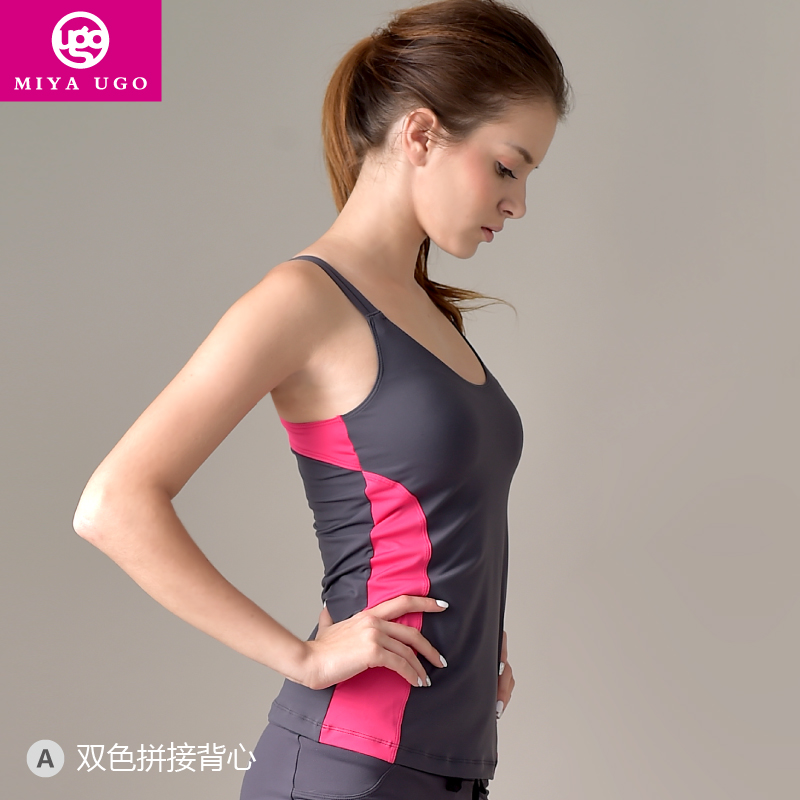 2015 Sale Rushed Girls Polyester Striped Roupas Ropa Deportiva Mujer The New, Professional Woman Fitness Wear Yoga Genuine Vest(China (Mainland))