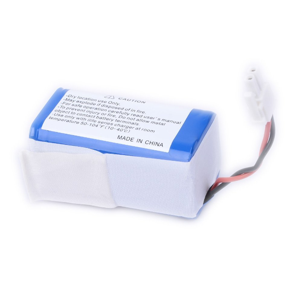 High Quality 2600nAh Power Supply Battery Rechargeable External Lithium Battery Pack for ILIFE A4 Robot cleaner Vacuum Parts(China (Mainland))