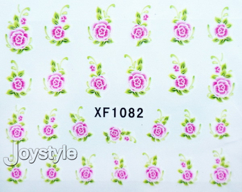 35 sheets Nail Stickers Nail art Water Transfers Decal Imitate real flowers watermark Free Shipping