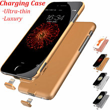 Ultrathin! External Battery case for iPhone6 case 6s Backup Charger Cover for iPhone6 Plus case 6s plus Power Bank Battery case