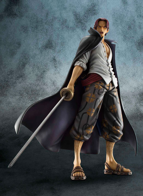 Megahouse One Piece POP NEO-DX Red Haired Shanks 1/8 PVC Figure(China (Mainland))