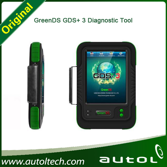 2015 Universal Diagnostic Tool GreenDS GDS+3 For Both Diesel and Gasoline Cars and Truck Original OEMScan(China (Mainland))