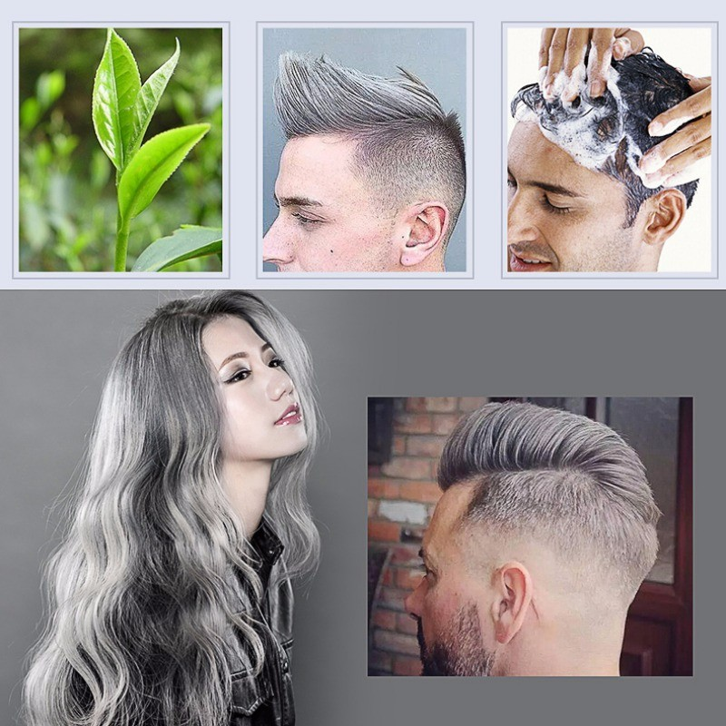 2018 New Hair Color Wax Dye One-time Style Styling Products Molding Paste Seven Colors Hair Dye Wax