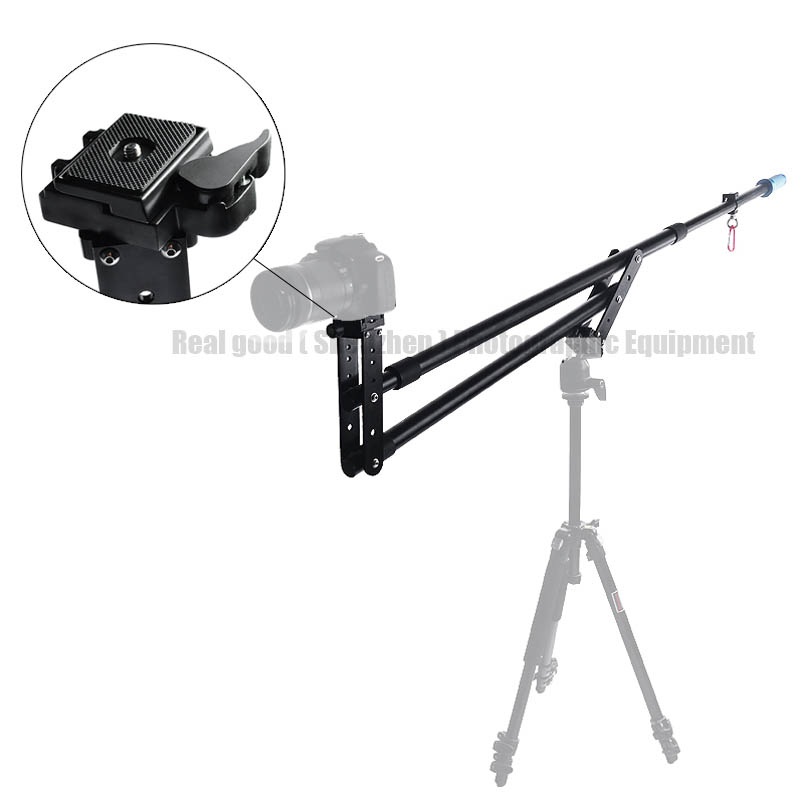 SF 7.5ft Video Camera Jib Crane Telescoping Mini Portable Travel Jib Extension Arm Support Photo Studio Accessories for DSLR DV(China (Mainland))