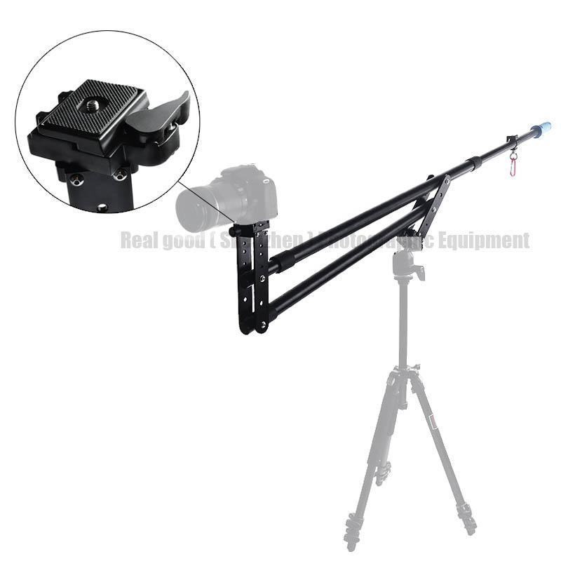 SF 7.5ft Video Camera Jib Crane Telescoping Mini Portable Travel Jib Extension Arm Support Photo Studio Accessories for DSLR DV<br><br>Aliexpress