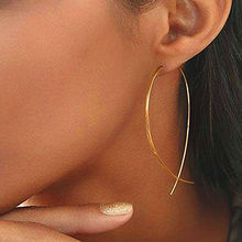 Korean Style Asymmetry Earrings Geometric Drop Earrings Rhinestone Circle Acrylic Shell Earrings Temperament Bijoux Brincos(China)