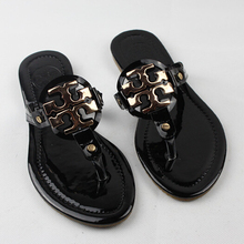 Plus Size 36-41 Summer European Fashion Women Sandals Metal Sequin Decoration  Ladies Flip Flops Woman Free shipping(China (Mainland))