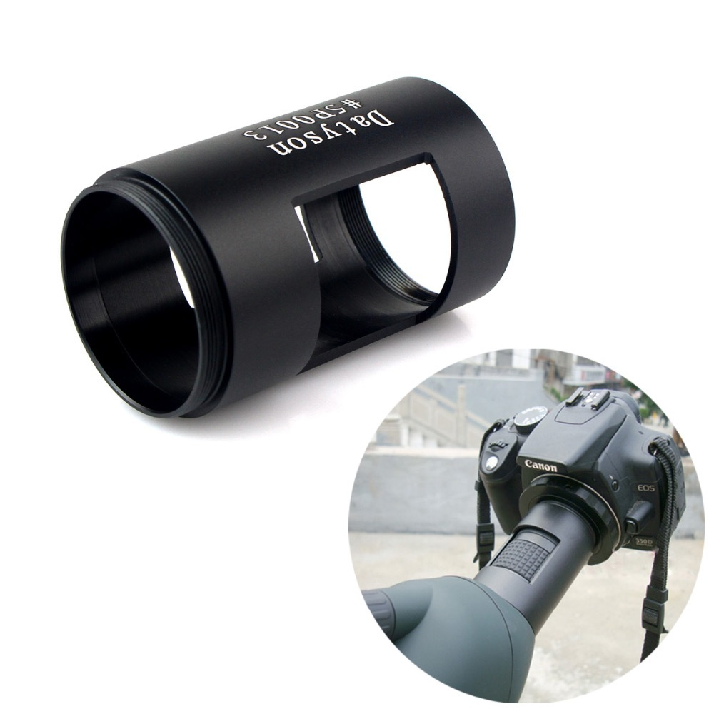 New Spotting Scope Camera Adapter 3X Landscape Lens Telescope Metal Photography Sleeve M42 Thread #5P0013(China (Mainland))