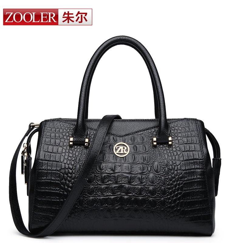 For Crocodile women's genuine leather handbag fashion handbag 2014 women's one shoulder cross-body bag