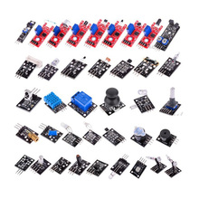 37 IN 1 BOX SENSOR KITS FOR ARDUINO HIGH-QUALITY FREE SHIPPING (Works with Official Arduino Boards)(China (Mainland))