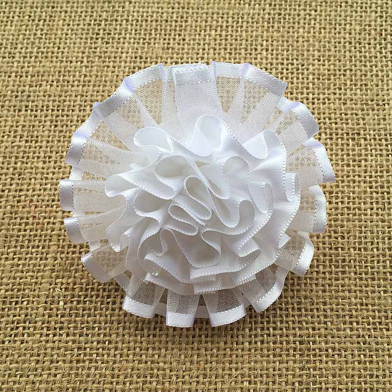 2pcs women summer style handmade big white pearl beads hair bands flowers gum for hair acessorios para cabelo scrunchy children(China (Mainland))