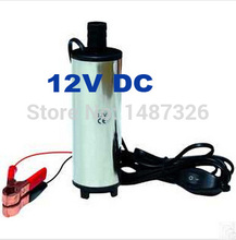 12V DC Diesel Fuel Water Oil Car Camping Fishing Submersible Transfer Pump(China (Mainland))