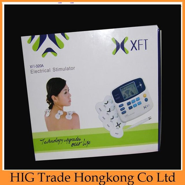 Digital LCD Acupuncture Massager Digital &  Therapy Machine & Electrical stimulator Relieve cervical