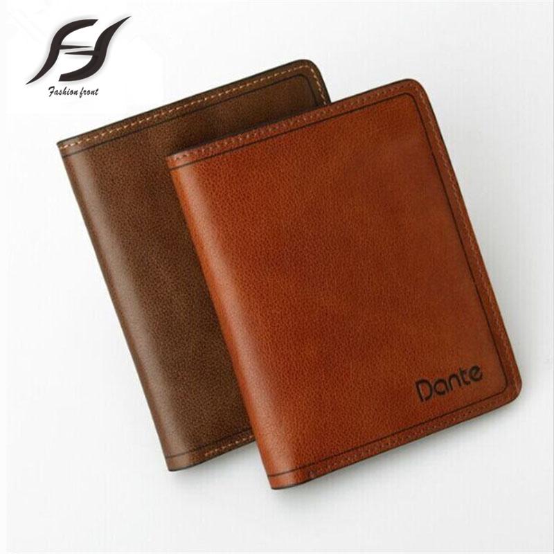 Genuine Leather Mens Wallet Black Hasp Men Purse Fashion Male Short Card Holder Vertical Men Wallets Real Leather<br><br>Aliexpress