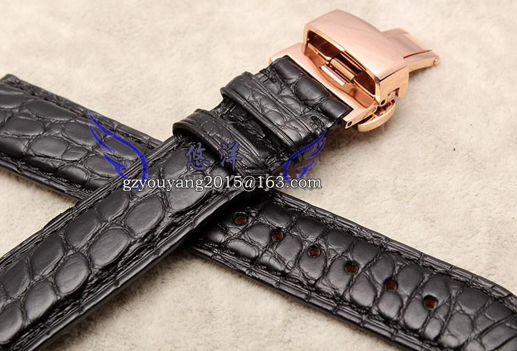 Ремешок из кожи аллигатора доступны T41 | бао ци лай эд мар-бесплатная серии | крылья 20 мм