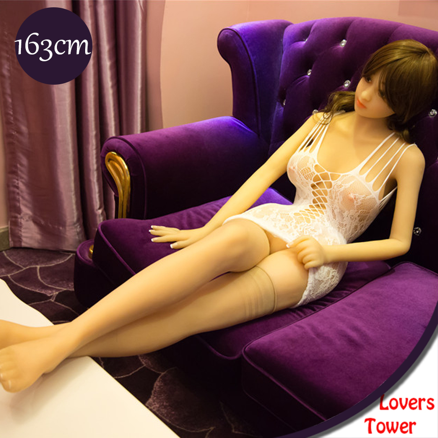 163cm Top quality real silicone sex dolls full size love dolls life like sex doll with