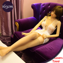 163cm Top quality real silicone sex dolls full size love dolls life like sex doll with metal skeleton oral sex toys for men