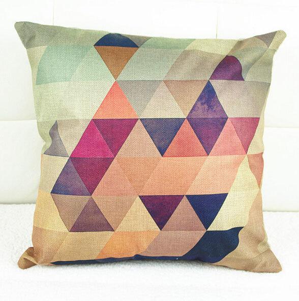 Modern Pillow Cover Design : Aliexpress.com : Buy Modern geometric pillow/almofadas case for seat chair car bed,40x40,cute ...
