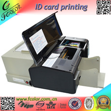 2016 New Inkjet Card Printting Machine AutoMatic Inkjet PVC ID Card Printer With 52 piece Tray for reseller(China (Mainland))