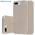 Original NILLKIN Leather Case for iPhone 7 Plus iPhone 7 Pro Sparkle Series PU Flip Cover