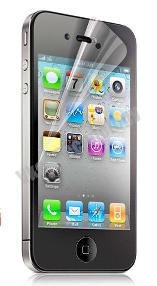 Clear Screen Protector for iPhone 4 4G Screen Guard for iphone 4 Retail Packaging via DHL 100pcs/lot
