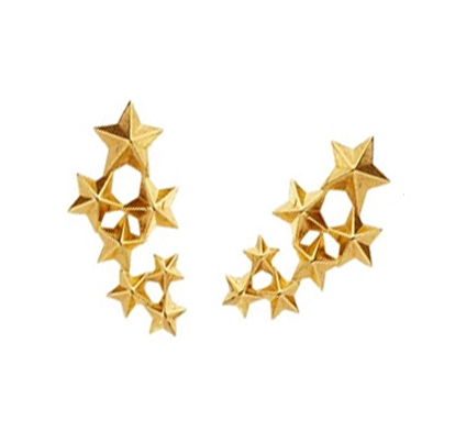 Fashion jewelry star brooch exquisite female cute five pointed star shirt collar clip tide(China (Mainland))