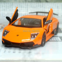 Brand New UNI 1/36 Scale Italy L-amb0rghini Murcielago LP670 Supercar Diecast Metal Pull Back Car Model Toy For Gift/Collection(China (Mainland))