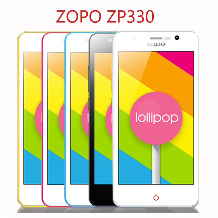 "Original ZOPO Color C ZP330 4.5"" MTK6735 64 bit Quad Core 4G Mobile Cell Phone Android 5.1 1GB+8GB ROM 5MP Camera OTG Dual SIM(China (Mainland))"