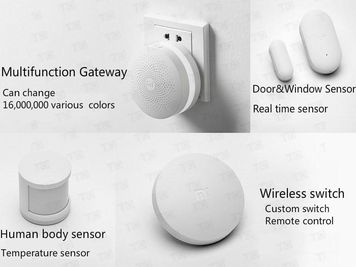 image for 2016 New Original Xiaomi Smart Home Kit,Door Window Sensor Human Body