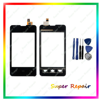 Black Color Touch Screen For Prestigio MultiPhone PAP3350 PAP 3350 Duo Touch Panel With Digitizer Glass Sensor Replacement