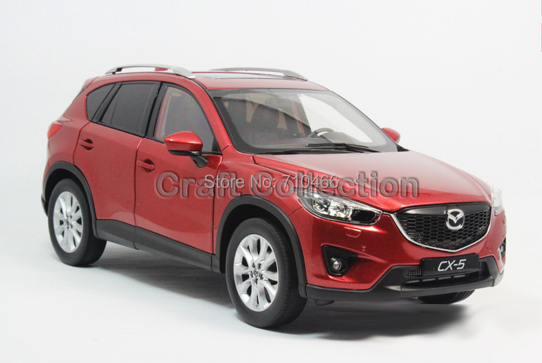 Hot! Red 2014 1/18 MAZDA CX-5 CX5 SUV Off Road Alloy Model Vehicle Top-seller Toy Cars Replica Limited Edition Brinquedos(China (Mainland))