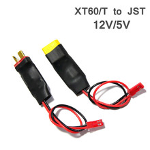 Original XT60/T To JST Plug BEC Voltage Regulation Module 12V/5V 3A Output 2-6S For RC Camera Drone Helicopter Accessories