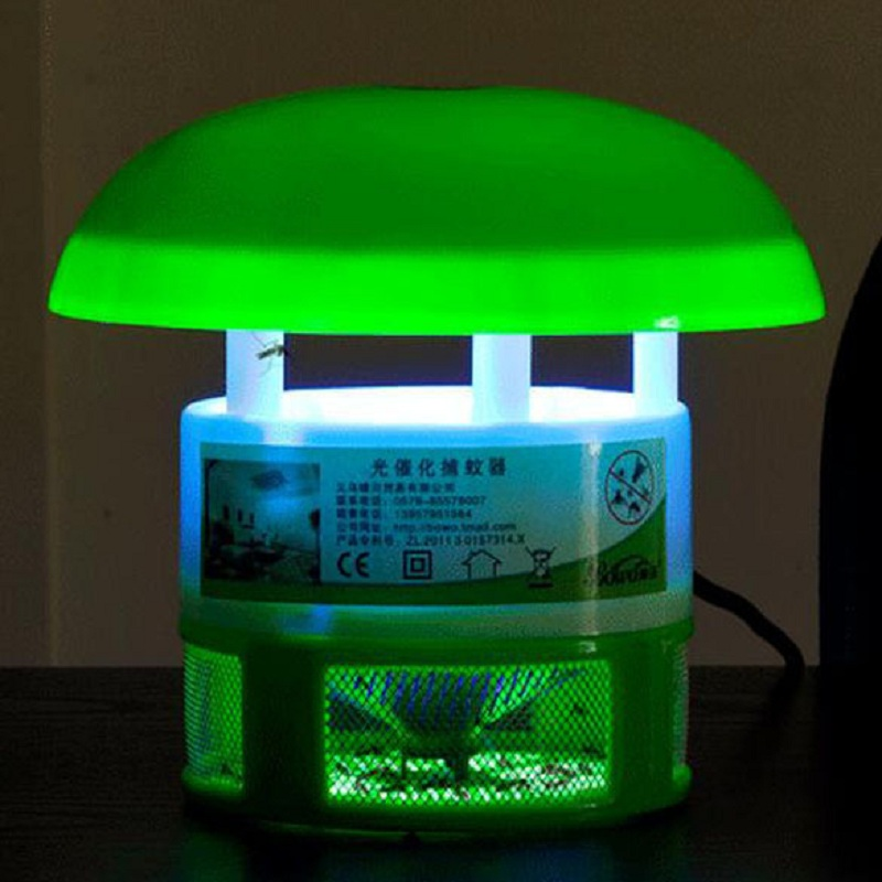New Style Household Electronic Mosquito Repellent LED Light 220V Airflow Anti Mosquito Killer Lamp Photocatalyst Pest Control(China (Mainland))