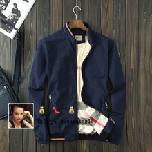 2015 new cool boys outerwear spring Fashion men's clothing jacket male spring and autumn thin outerwear business casual