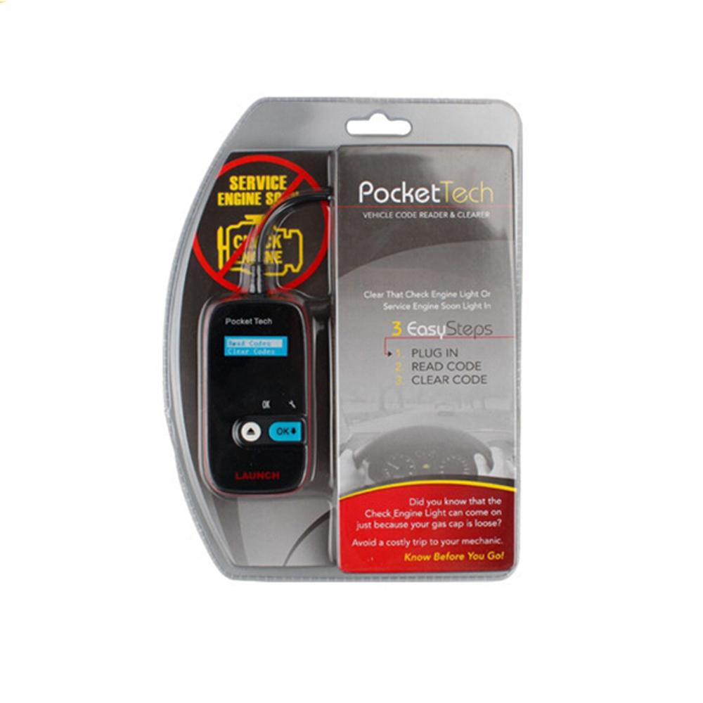 Original Launch X431 Pocket Tech Portable Device Launch Pocket Tech launch obd2 code reader(China (Mainland))