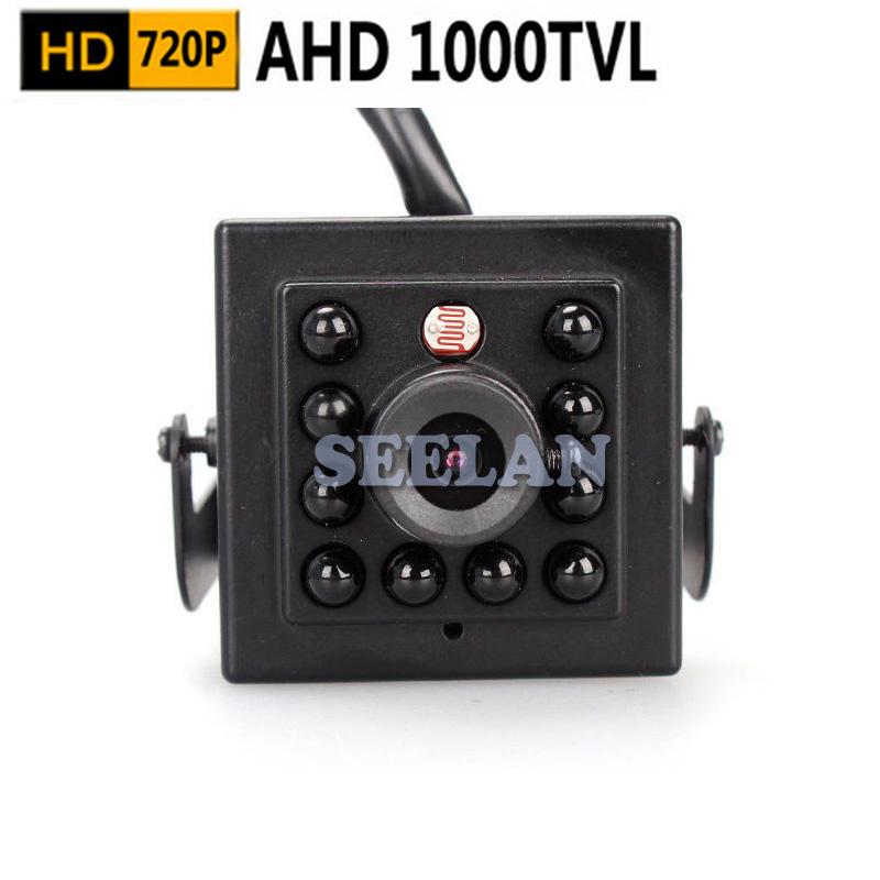 Mini AHD camera 3.6mm lens 720P 1.0megapixel Night Vision 10Pcs 940nm Invisable Hidden IR Leds Security Indoor CCTV Mini Camera<br><br>Aliexpress