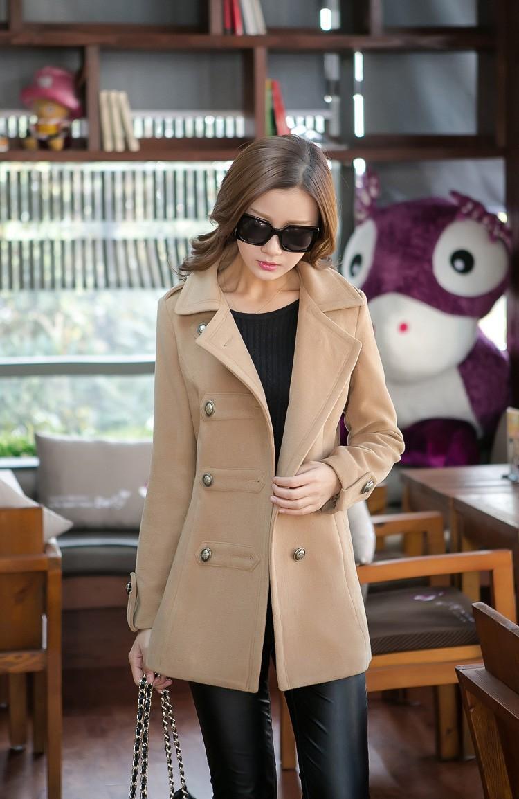2015 году новые зимние пальто Женские шерстяные Пальто женские пуховики feminino Надьямарош шерсть пальто шерсти куртки