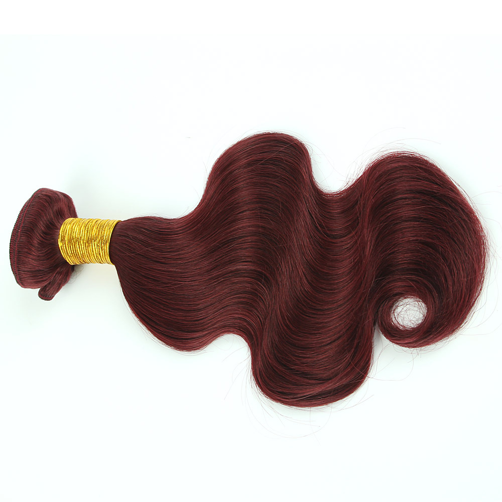 6A Virgin Indian Human Remi Hair Original 100% Unprocessed Body Wave ...