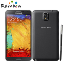 """2016 Hot Sale Smartphone Samsung Galaxy note 3 16GB ROM 3G RAM Android 4.2 Quad Core 13MP Camera 5.7""""Screen Mobile phone(China (Mainland))"""