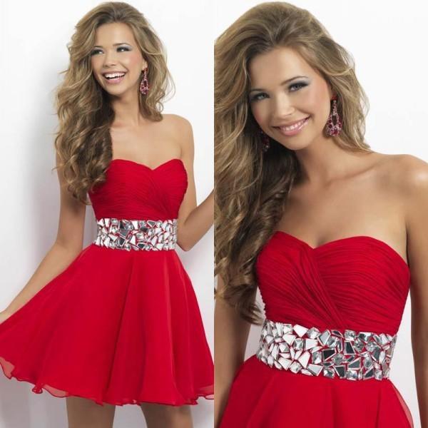 Бесплатная доставка милая-образным вырезом кристалл с плеча рукавов прекрасный платье-линии ...
