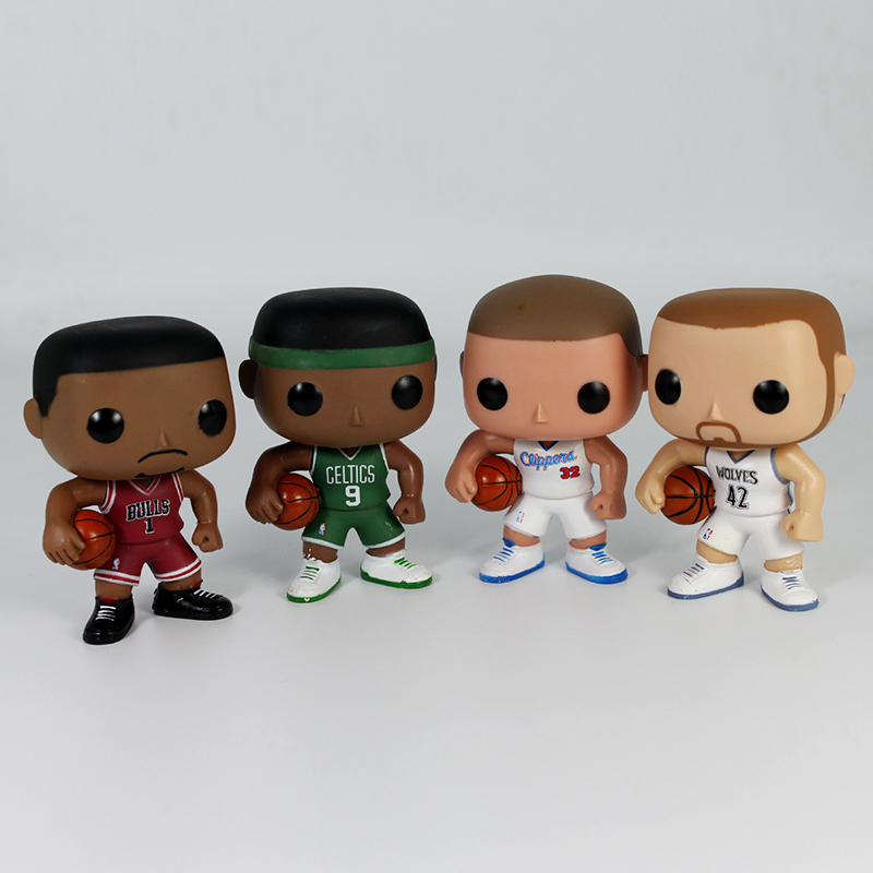 Funko POP NBA Black Griffin Derrick Rose Rajon Rondo Kevin Love Figure Basketball SuperStar Player Collection Model Toy for Fans(China (Mainland))