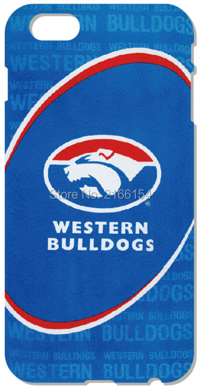 2016 western bulldogs Cell phone Cover For iphone 5S SE 5C 6 6S Touch 5 6 For Samsung Galaxy J1 J2 J3 J5 J7 A3 A5 A7 A8 Case(China (Mainland))